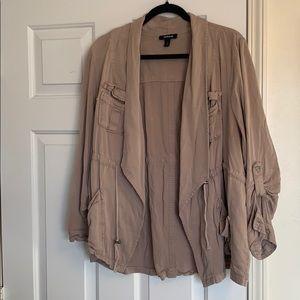Khaki utility style jacket